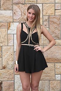 Lita Cage Playsuit