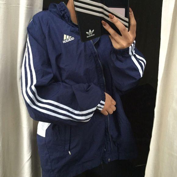 adidas navy jacket
