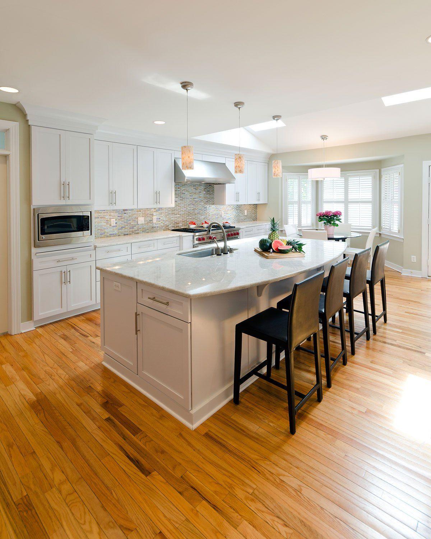 White Kitchen Cabinets And Granite Countertops: Top 25 Best White Granite Colors For Kitchen Countertops
