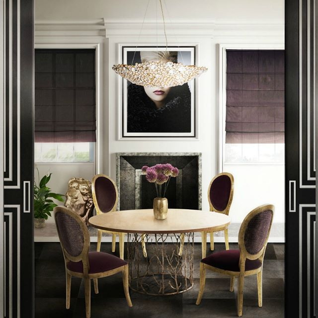 Superb Dining Room Trends This Year  Feel The Wilderness Amusing Trends In Dining Rooms Decorating Inspiration