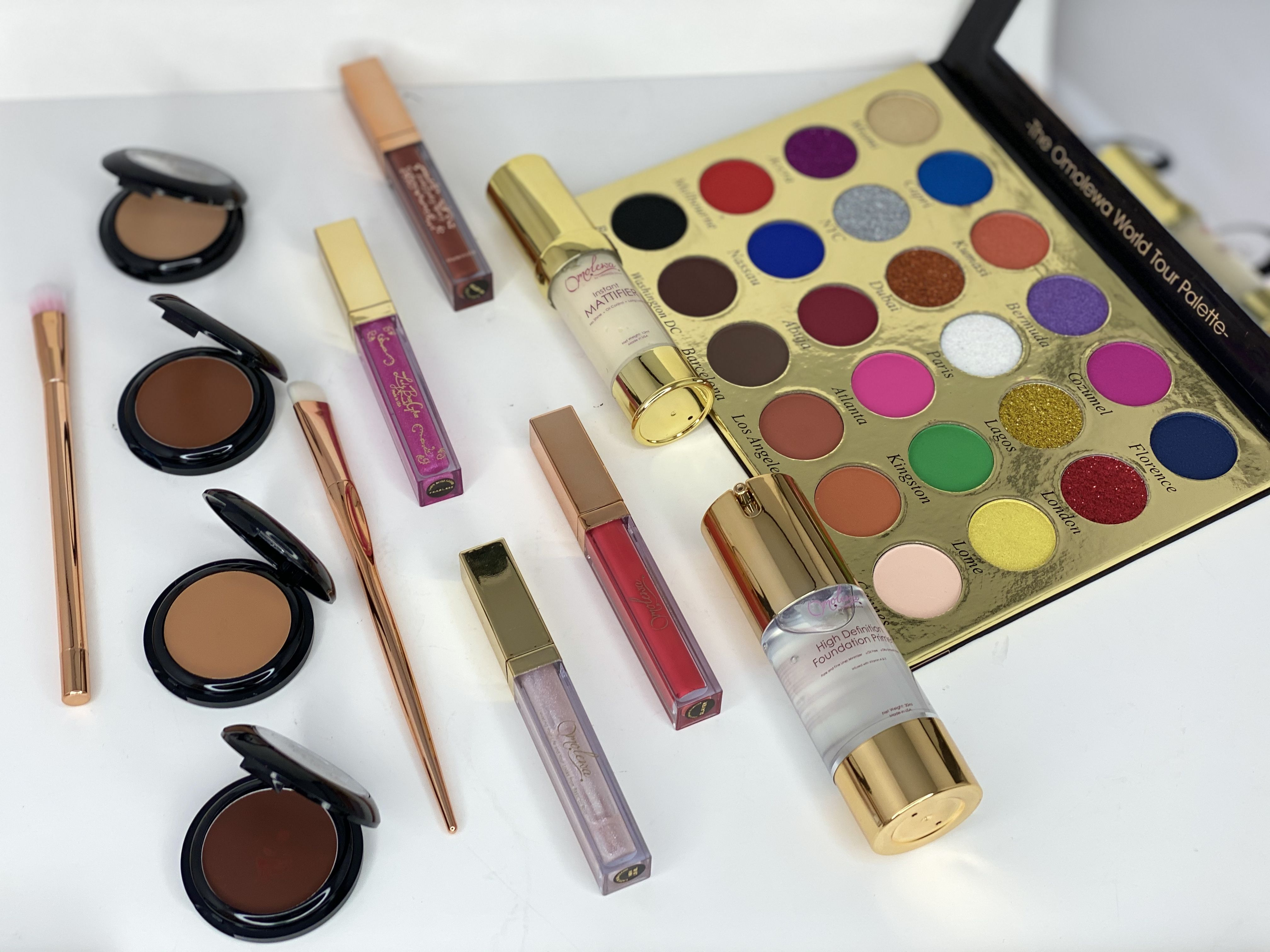 Cruelty Free Black Owned Makeup brand. Omolewa Cosmetics