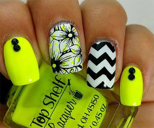 15-Neon-Summer-Nail-Art-Designs-Ideas-2016-6.jpg (500×417) | summer ...