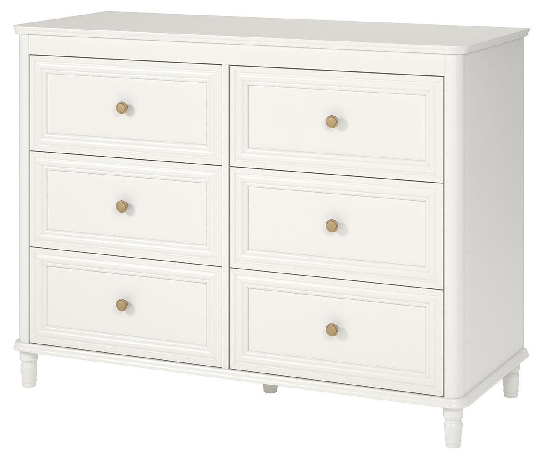 6 Drawer Piper Cream Dresser Ashley Furniture Homestore Cream Bedroom Furniture Ashley Furniture Furniture [ 1050 x 1228 Pixel ]