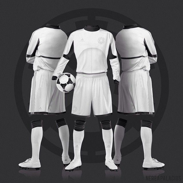 Iwanttoworkfornike By Star Soccer Kits Stormtroopers Wars On gxAq0Z
