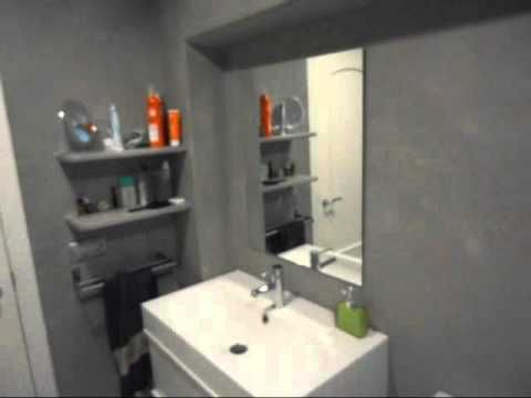 sch ner wohnen trendstruktur beton optik youtube badezimmer pinterest badezimmer. Black Bedroom Furniture Sets. Home Design Ideas