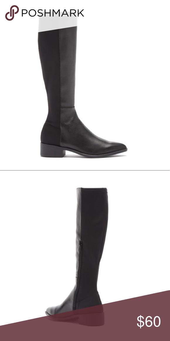 e3ba380e715 NWOT Steve Madden Heath Knee High Boot NWOT Size: 8.5 Color: BLACK ...