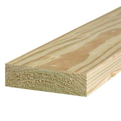 2 X 6 Pressure Treated Lumber Deck Construction Home Depot Ground Level Deck Deck Construction