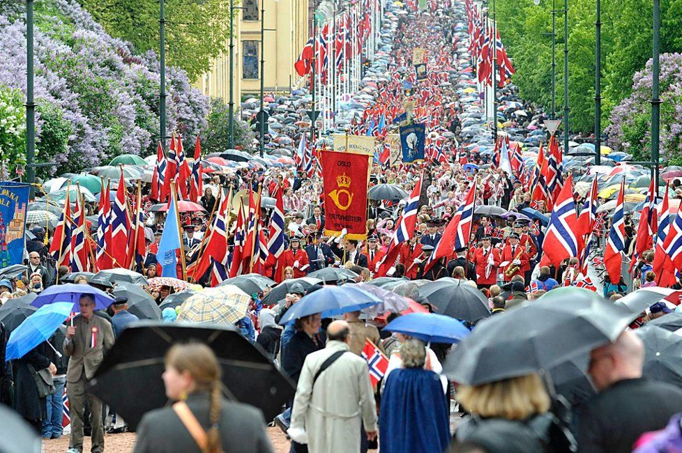 17 mai Oslo - a rainy day