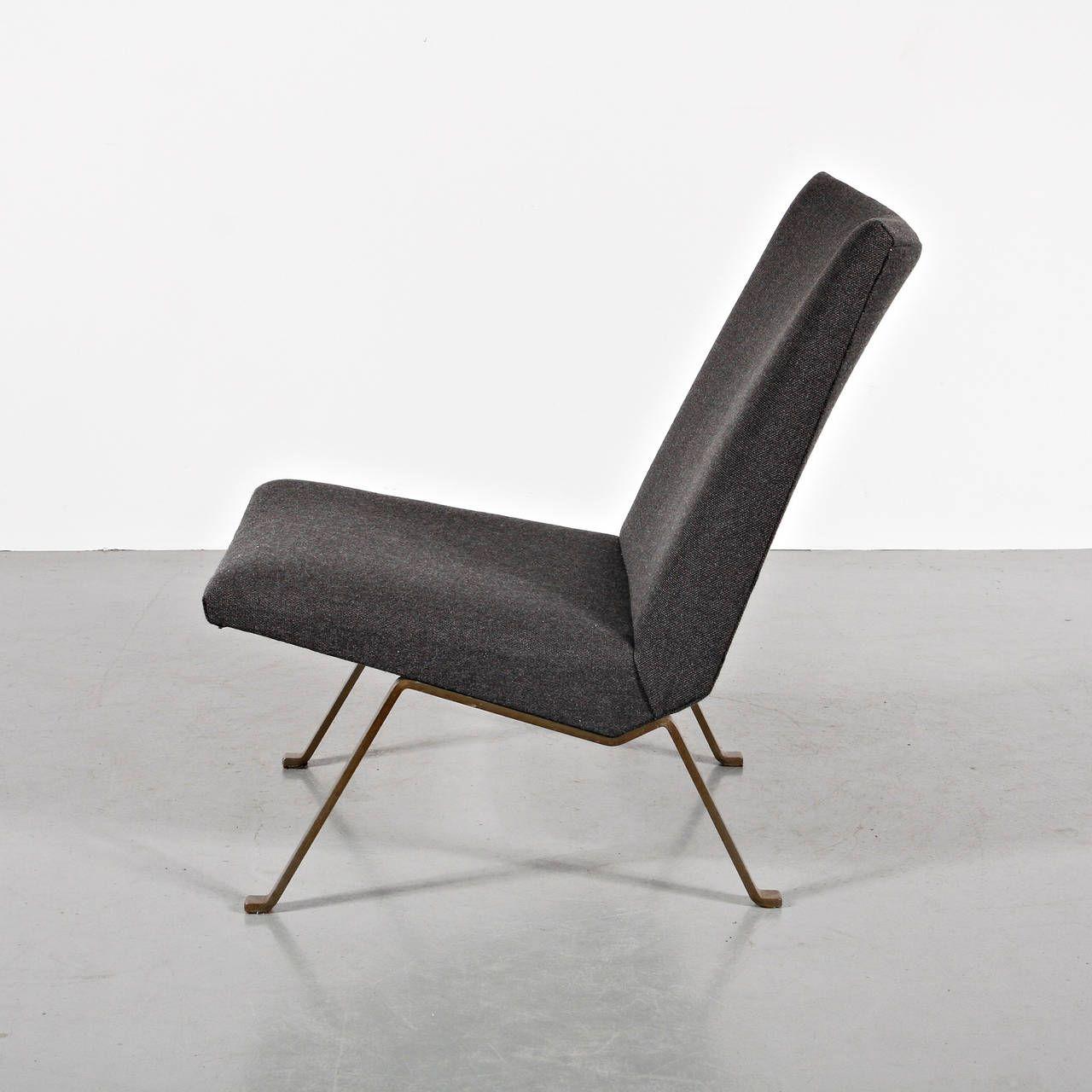Rare Koene Oberman Easy Chairs, circa 1950 Vintage