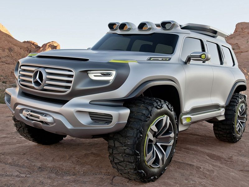mercedes benz ener g force concept best suv for off road. Black Bedroom Furniture Sets. Home Design Ideas