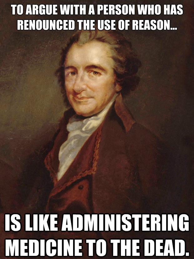 25+ Best Memes About Thomas Paine | Thomas Paine Memes