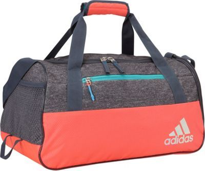 bb065247fd Adidas Squad III Duffel Bag The Squad II Duffel was built with the needs of  the female athlete in mind. This duffel has a roomy main compartment  complete ...