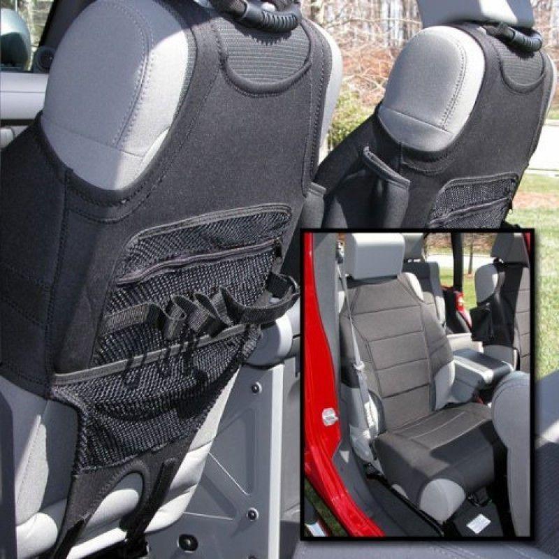 Neoprene Seat Vests Black 07 16 Jeep Wrangler Jk Wrangler Accessories Jeep Wrangler Jeep Wrangler Jk