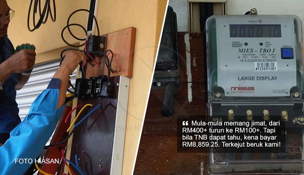 Ini Kesilapan Kami Sendiri Padah Usik Meter Elektrik Penghuni Rumah Kena Bayar Rm8859