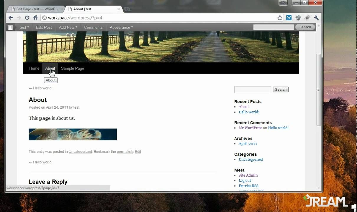 Wordpress tutorial getting started tutorials pinterest wordpress tutorial getting started baditri Images