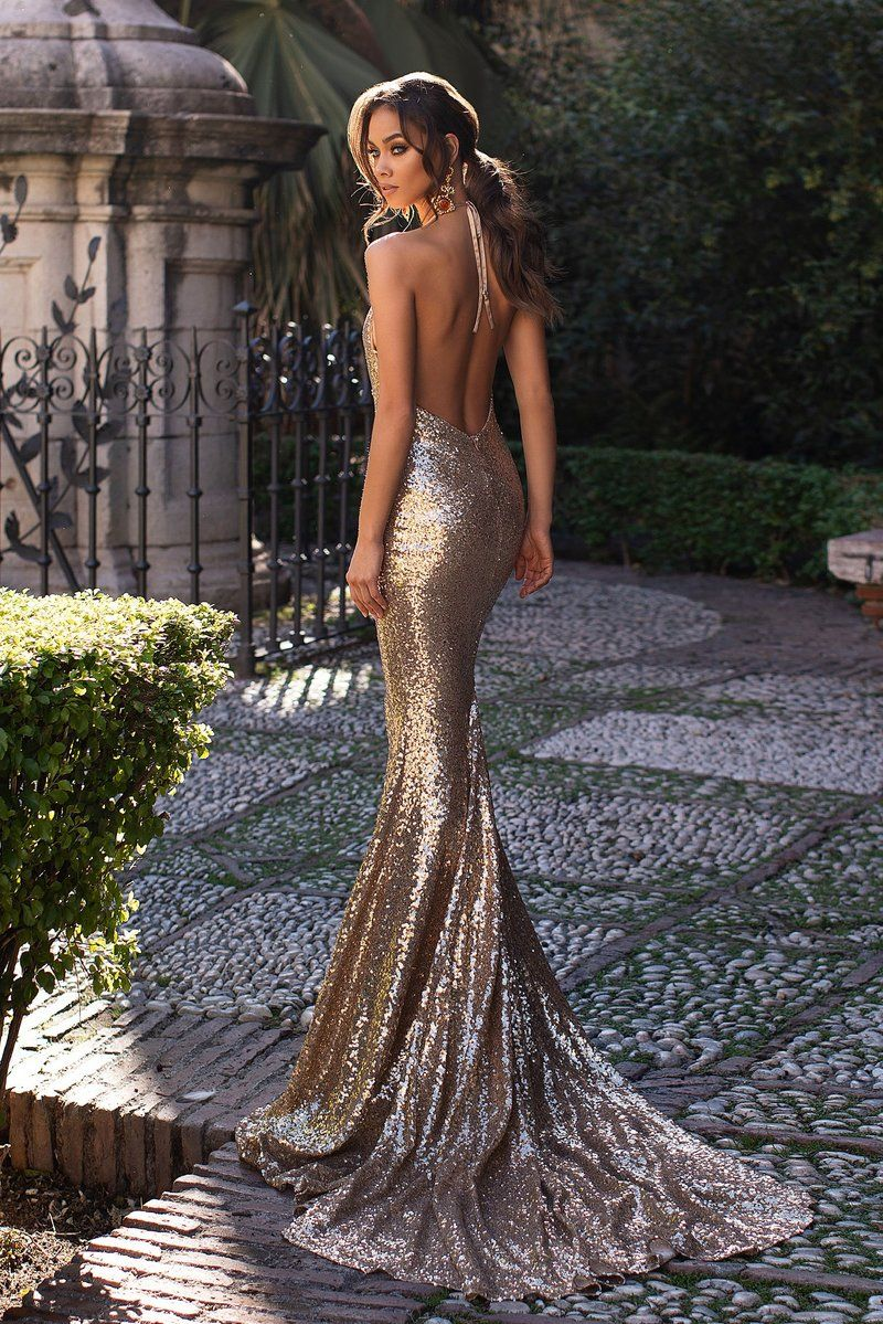 Malika Copper Gold Gold Mermaid Prom Dresses Dresses Mermaid Prom Dresses [ 1199 x 800 Pixel ]