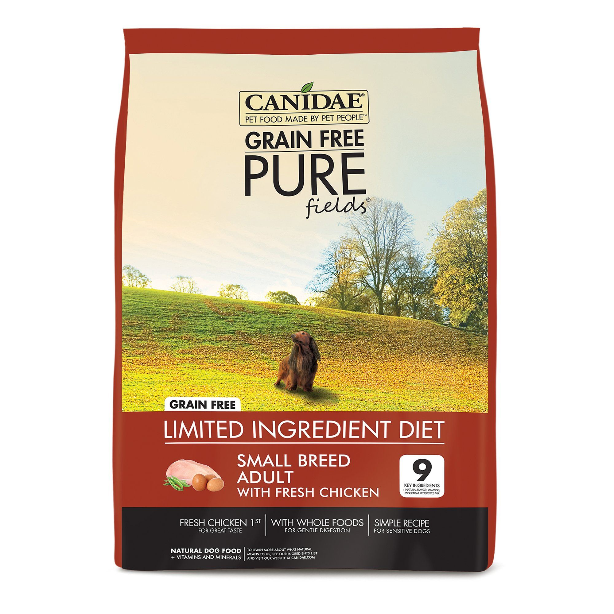 Canidae Pure Small Breed Real Chicken Potato Whole Egg Recipe