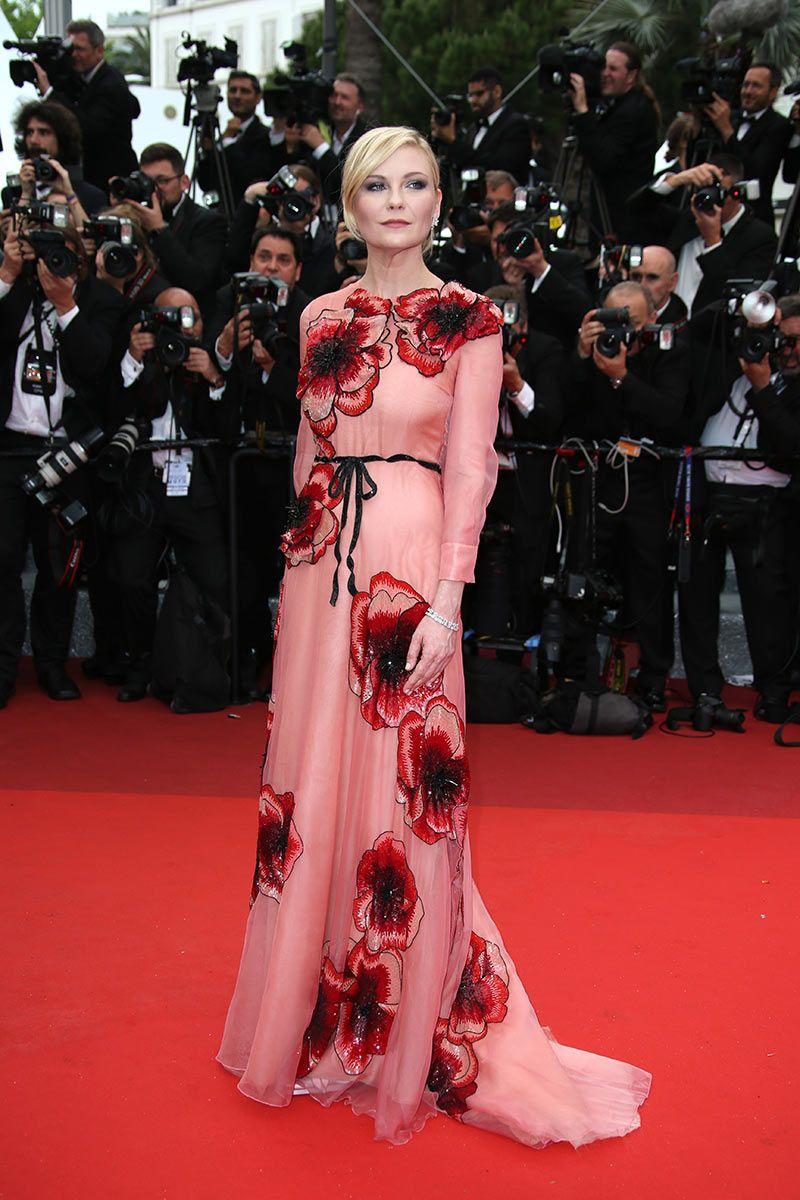 Festival de Cannes 2016 | Kirsten dunst, Gucci y Vestido largo