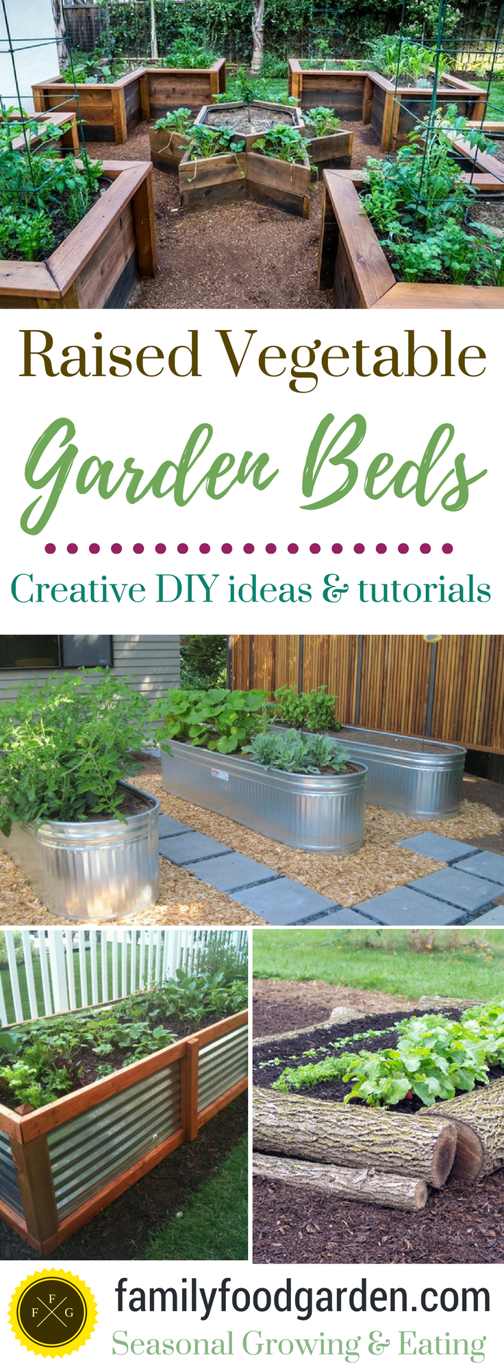Raised garden beds add a lot of beauty to a garden. They're also excellent for drainage, warming up the soil faster in the