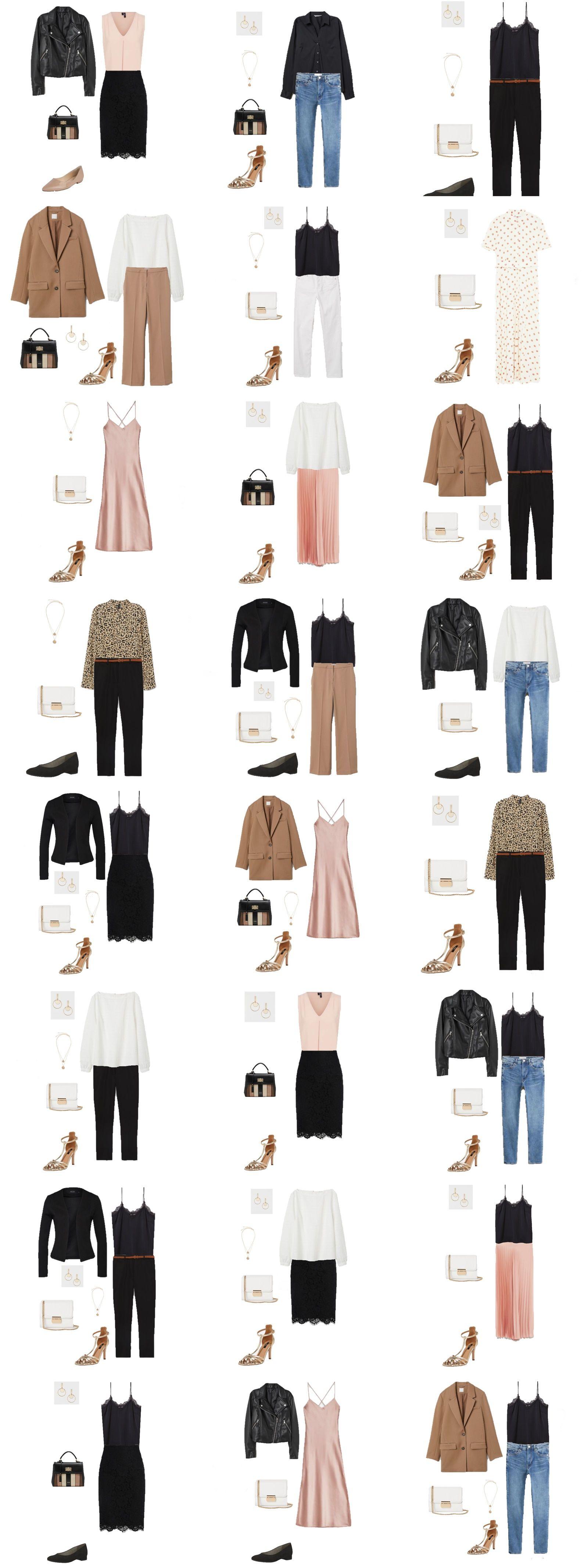 Frühlings Capsule Wardrobe - womenontrend #datenightoutfit