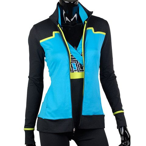 EP Sport Fast Track Indy Color Blocked Zip Jacket