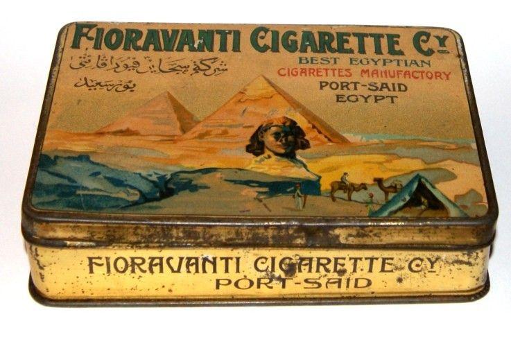 Cigaretten Blechdosen - oldfashioneds Webseite!