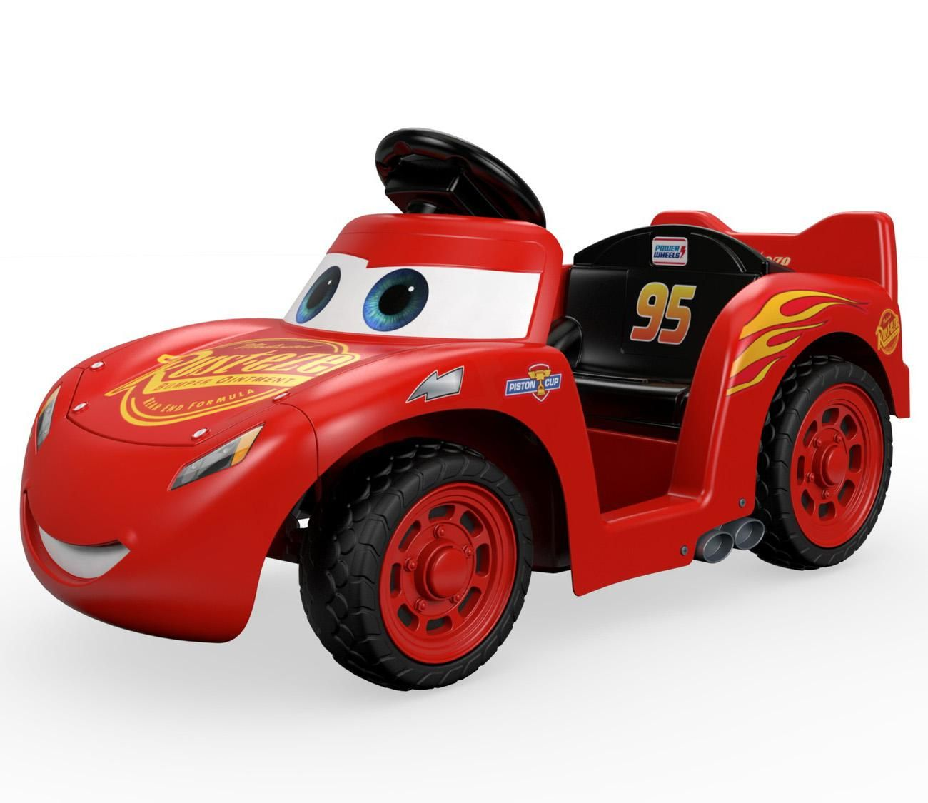 amazon com power wheels lil lightning mcqueen toys games cars