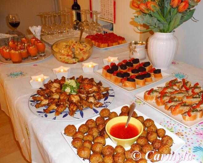 Menu Para Ninos En Una Fiesta