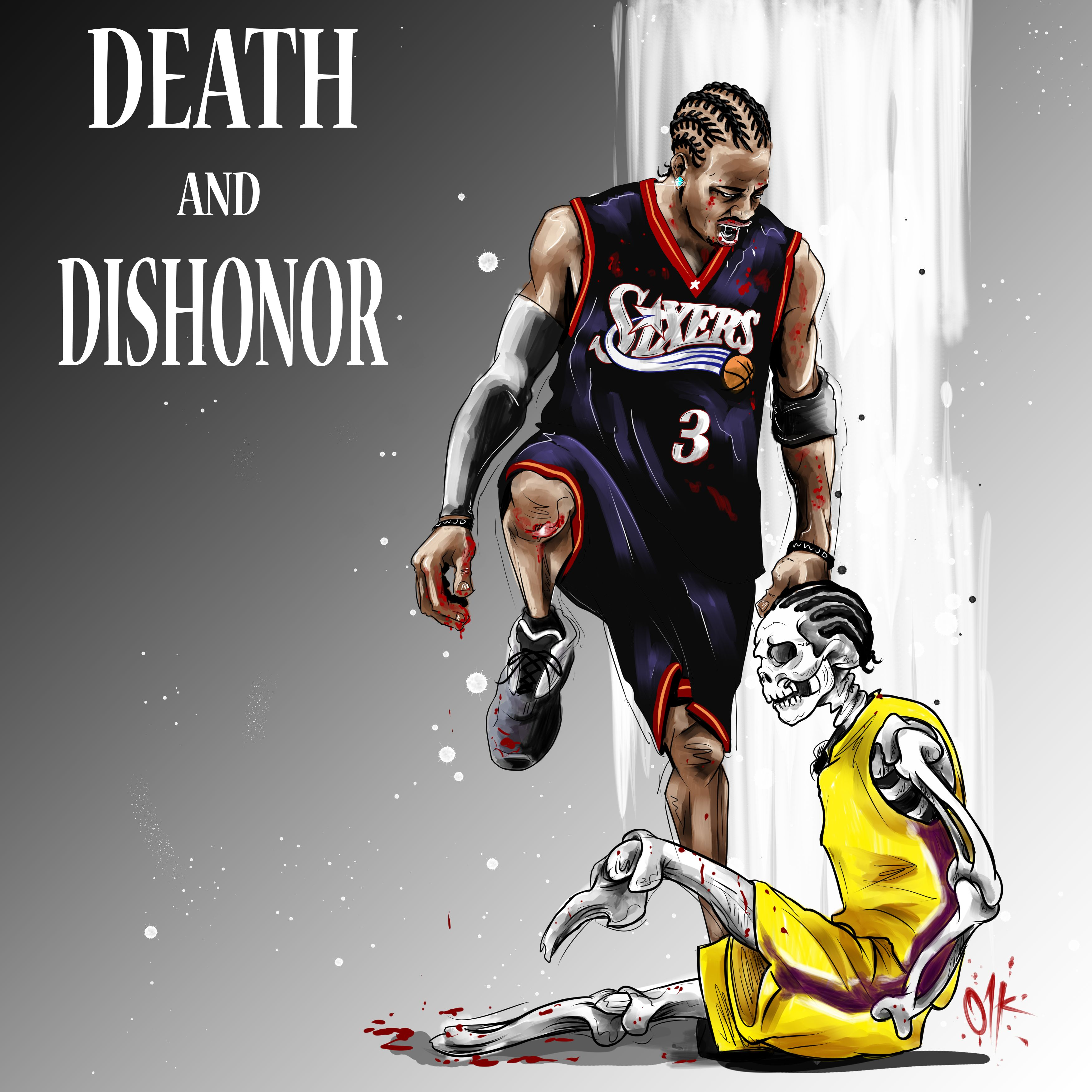 42f80eb60 Allen Iverson historic moment shirt and poster design.