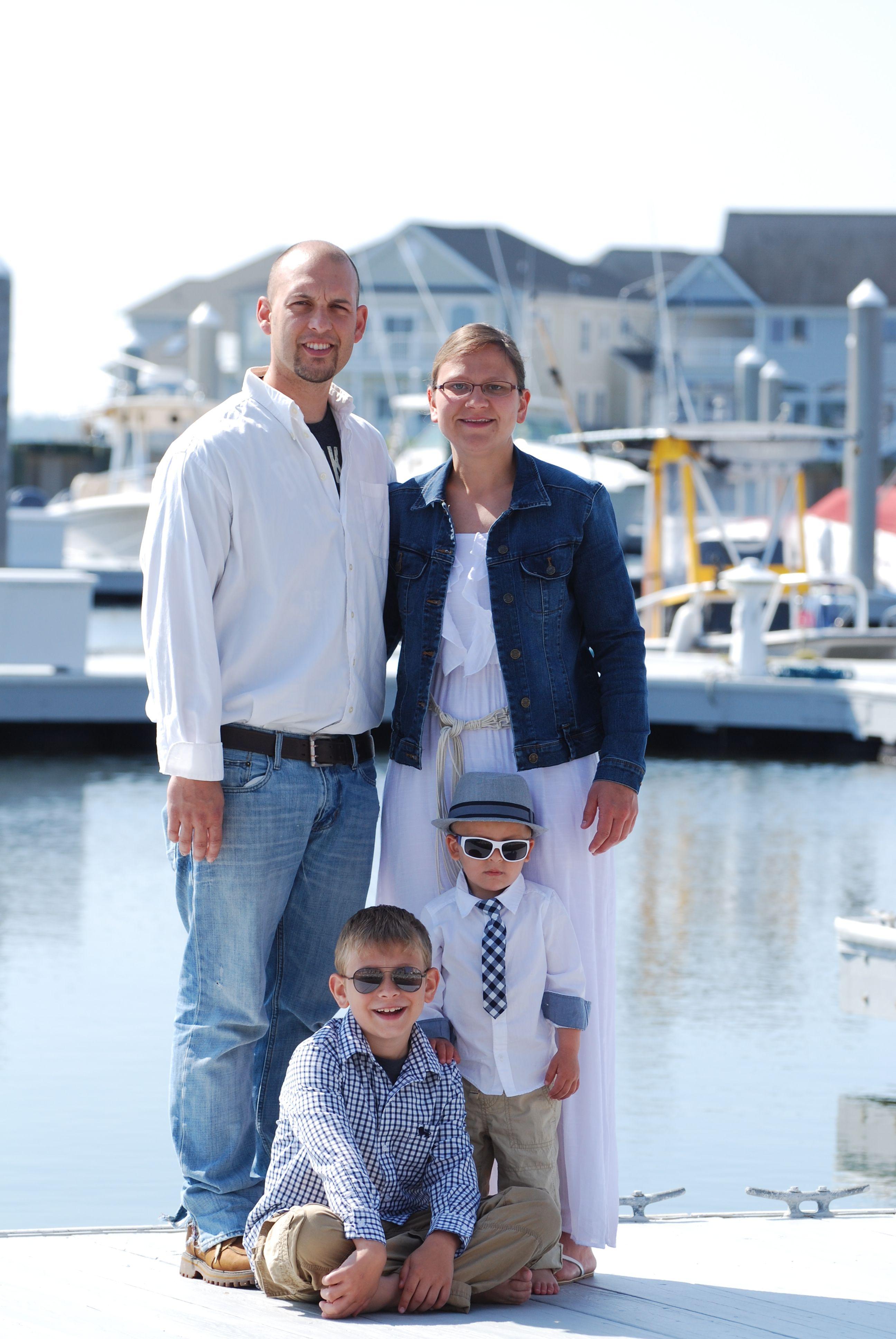 nautical family photo
