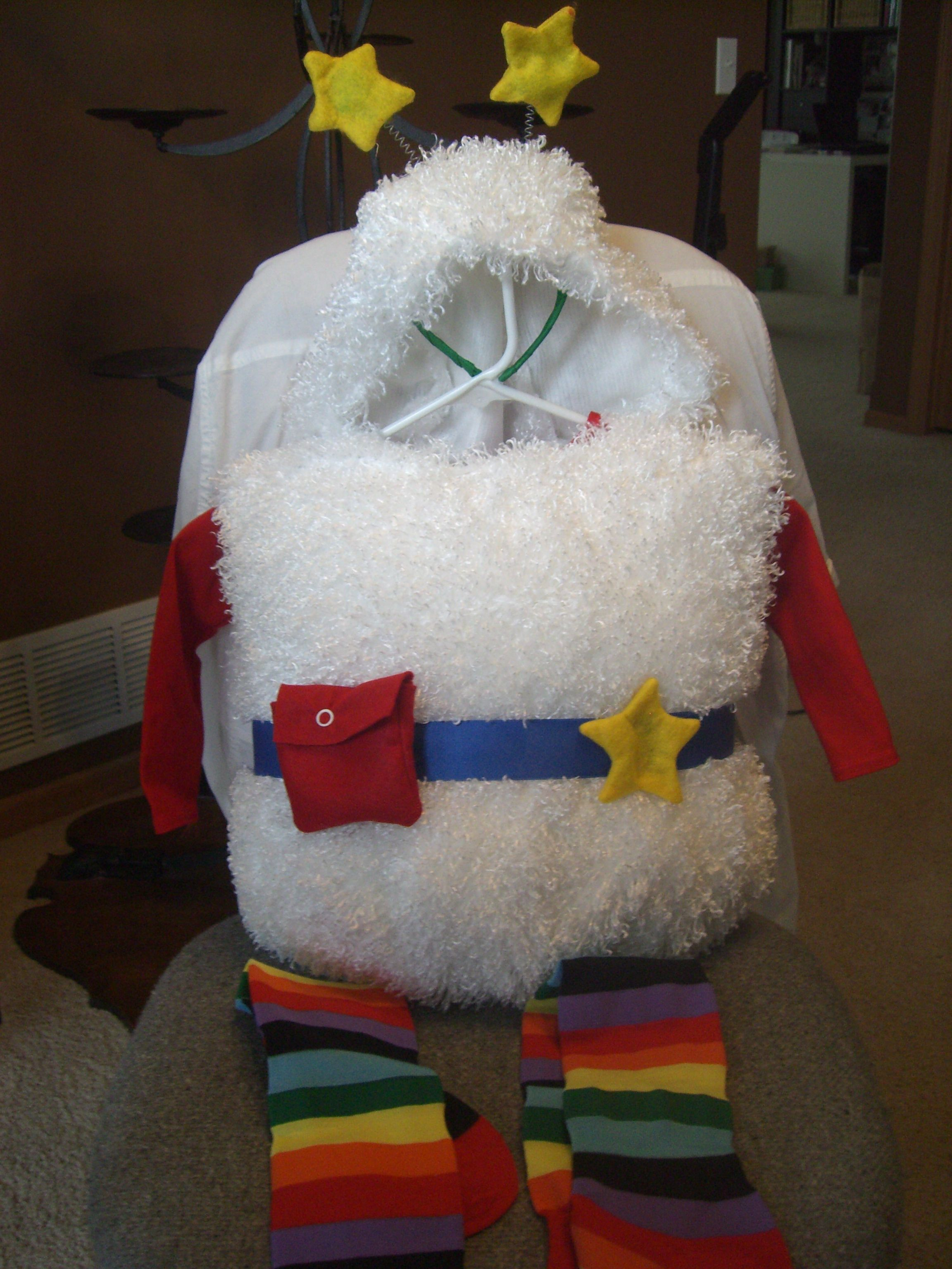 Homemade Twink Costume Rainbow Brite