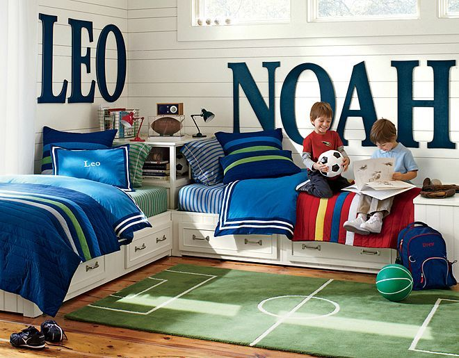 soccer-themed room | soccer bedroom, pottery and barn