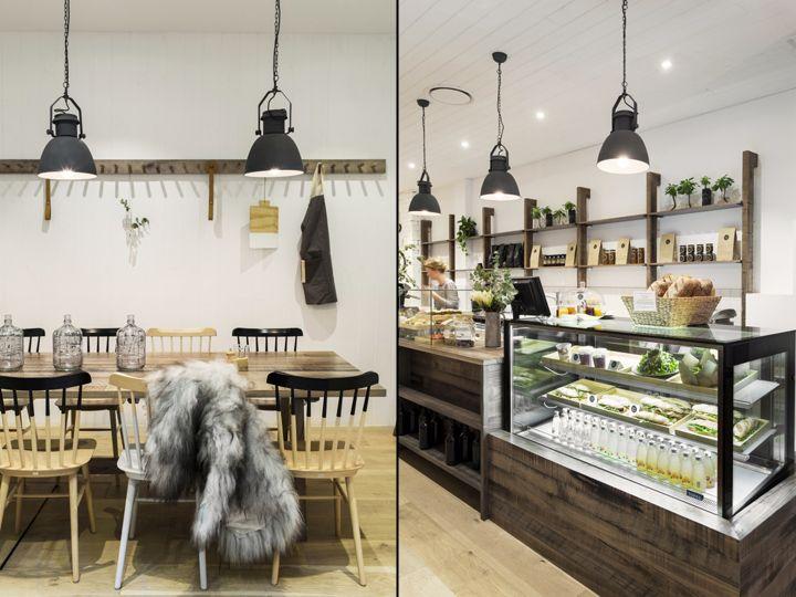 Lucky Penny Café  Restaurant by Biasol Design Studio, Melbourne - garten lounge mobel holz