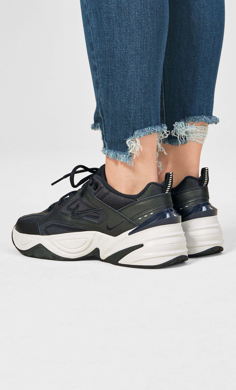 classic fit d7840 e941b Womens Nike Black White M2K Tekno - Black