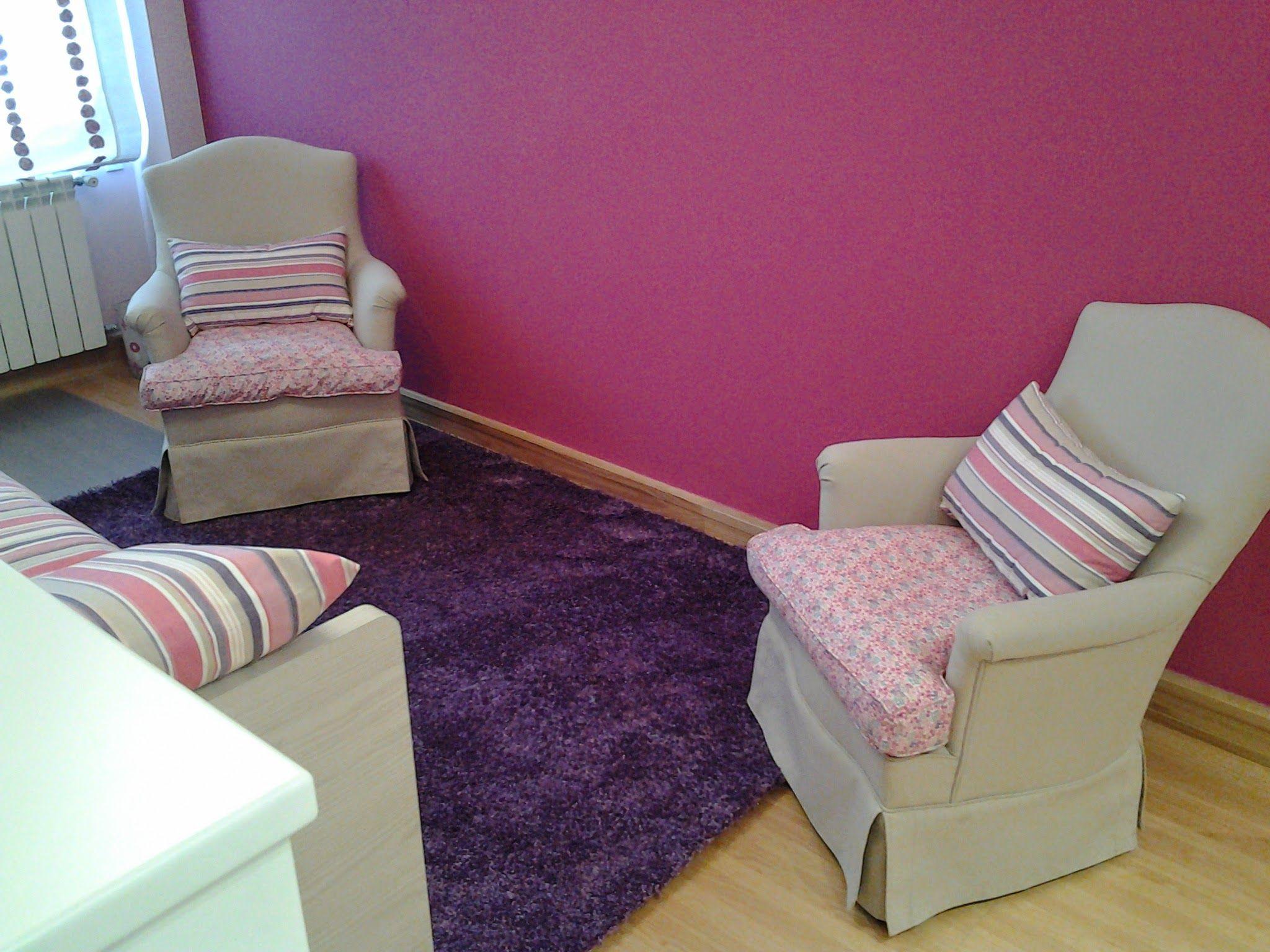 Butacas restauradas tapizadas para dormitorio juvenil - Butacas para dormitorios ...
