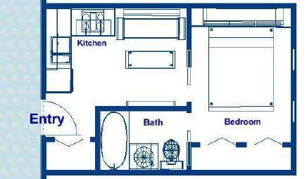 Ocean Liner Luxury Cabin With One Bedroom One Bathroom