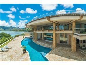 さとうあつこのハワイ不動産: 日本のテレビ番組でHOMETIQUE ホームティークハワイ不動産がアレンジしたハワイカイの豪邸x2