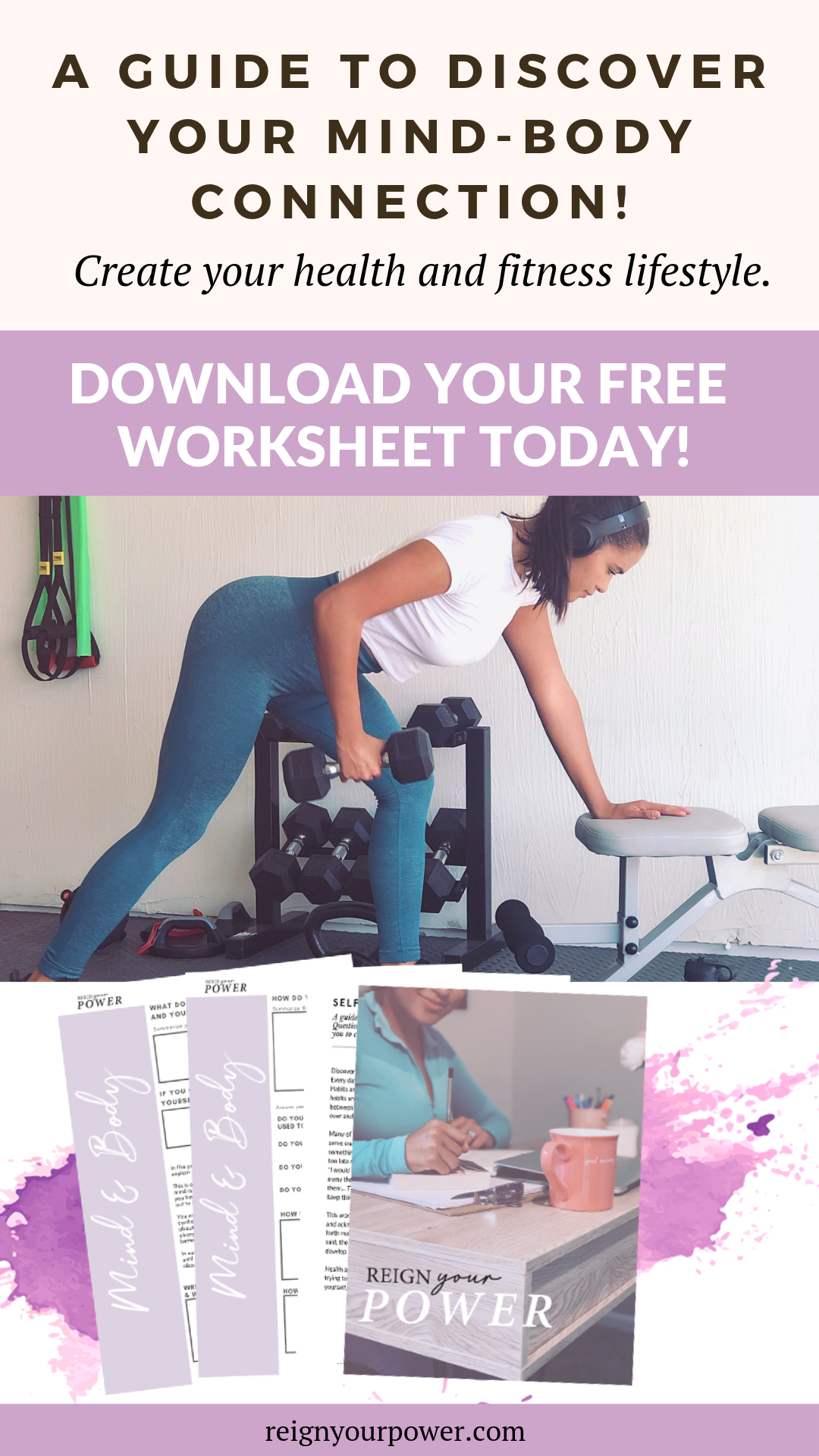 Free Mind Amp Body Loop Worksheets A Guide To Discover Your