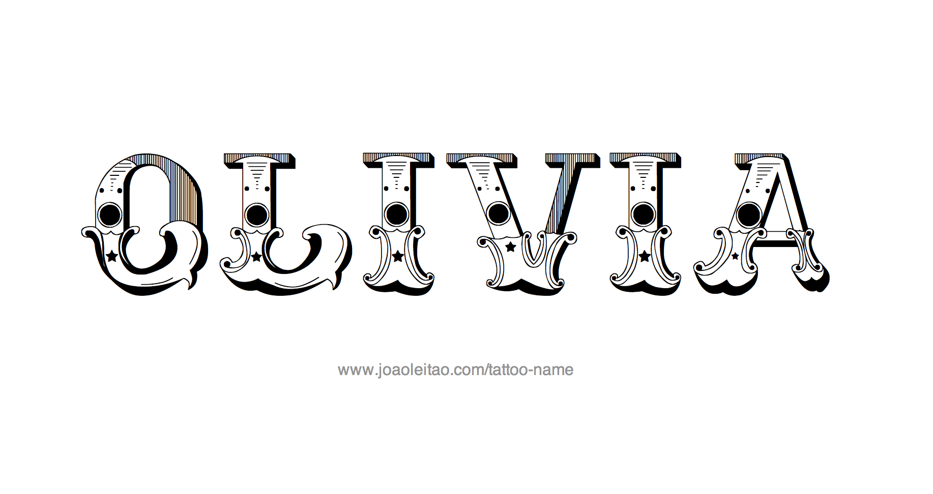 Tattoo Design Name Olivia Name tattoo designs, Tattoo