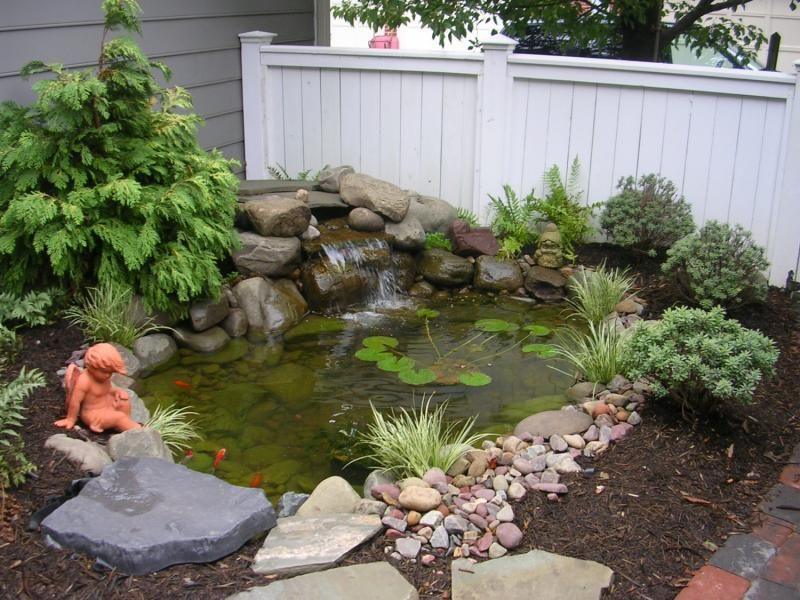 front yard pond ideas   Landscape Design Project of the ... on Front Yard Pond  id=41800