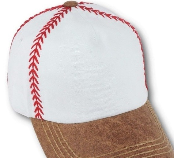 90594c54ecd33 Baseball Alley Designs - Baseball Stitches Cap
