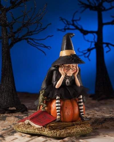 Bethany Lowe Fear of Flying Witch Halloween Figure #ad Halloween - lowes halloween