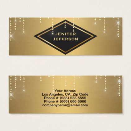 Elegant sparkles glitter business card elegant sparkles glitter business card glitter glamour brilliance sparkle design idea diy elegant reheart Image collections