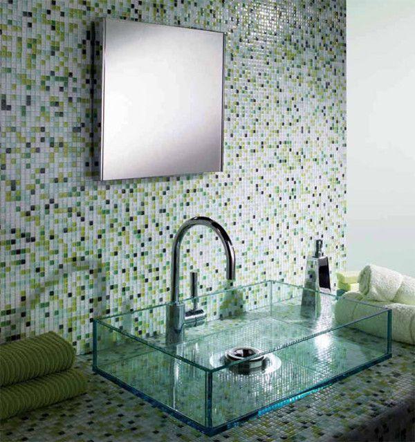 Vetrina Mosaics @Material Plans Mosaic Tiles, Mosaic Walls, Bathroom Interiors
