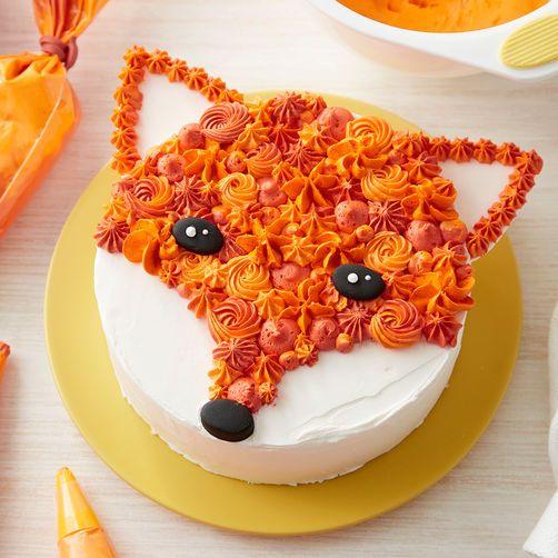 Rosanna Pansino Fabulous Fox Cake #cupcakecakes