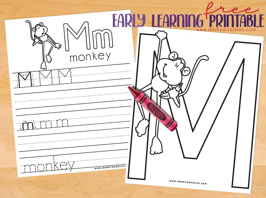 Letter Practice M Worksheets Writing Practice Worksheets
