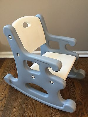 Image Result For Little Tikes Blue Rocking Chair Child Size