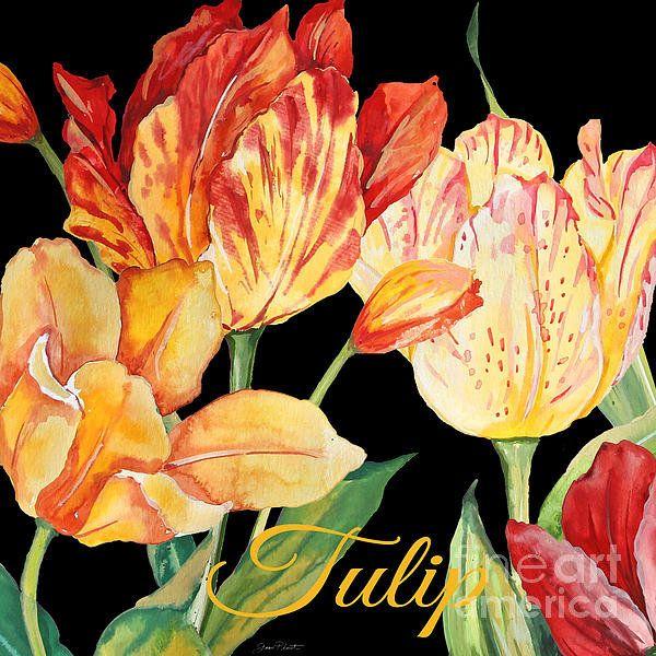 Tulip-jp2604 Print By Jean Plout