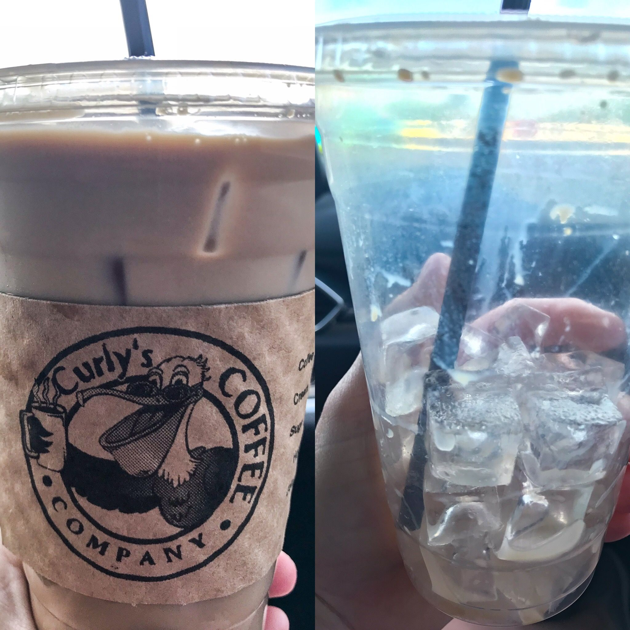 Curlys coffee in marathon fl before and after drive