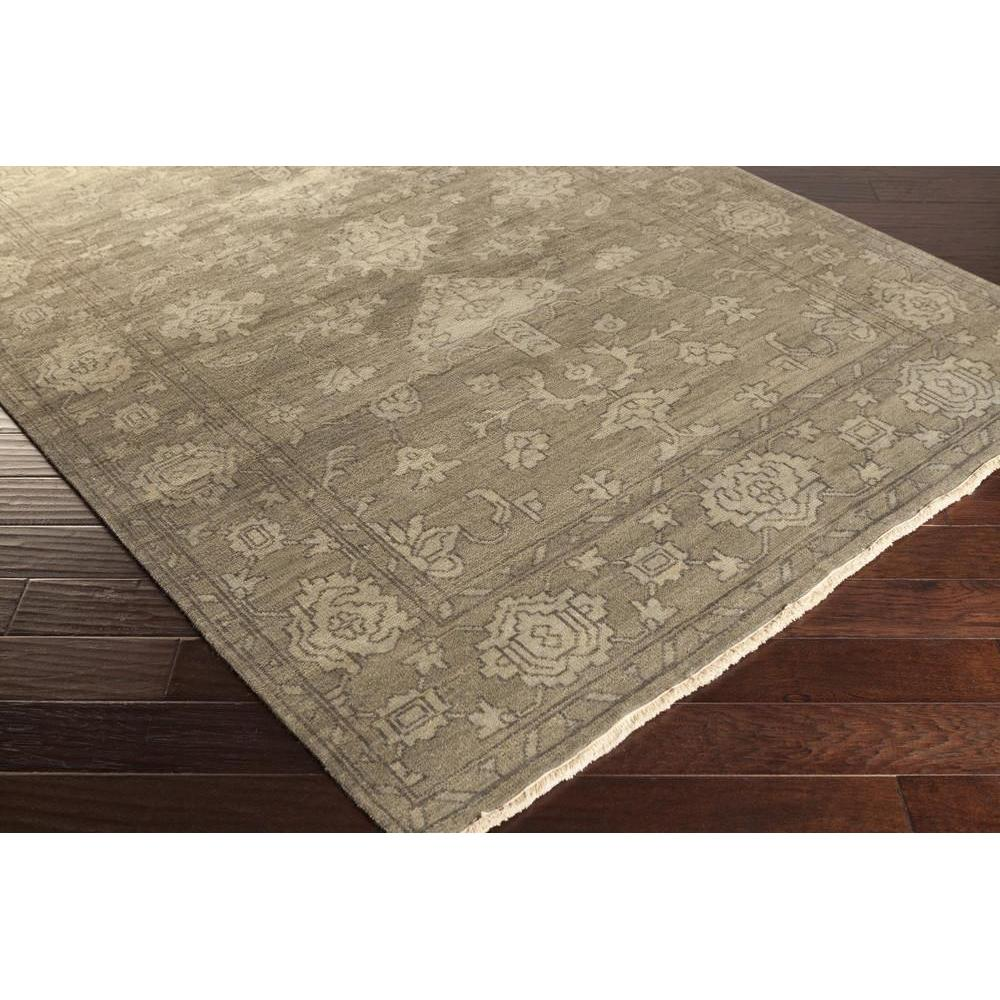 Hillcrest Area Rug | Gray Hides and Leather Rugs Hand Knotted | Style HIL9034